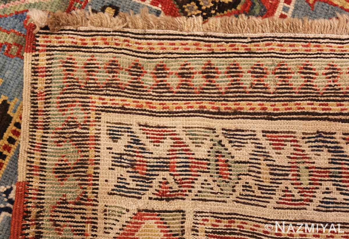 tribal antique caucasian kazak rug 44563 weave Nazmiyal