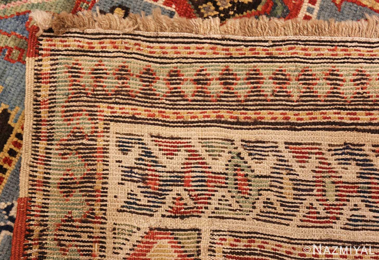 tribal antique caucasian kazak rug 44563 weave Nazmiyal