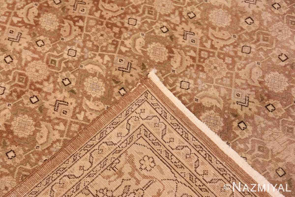 Weave Shabby chic Antique Persian Tabriz rug 44600 by Nazmiyal