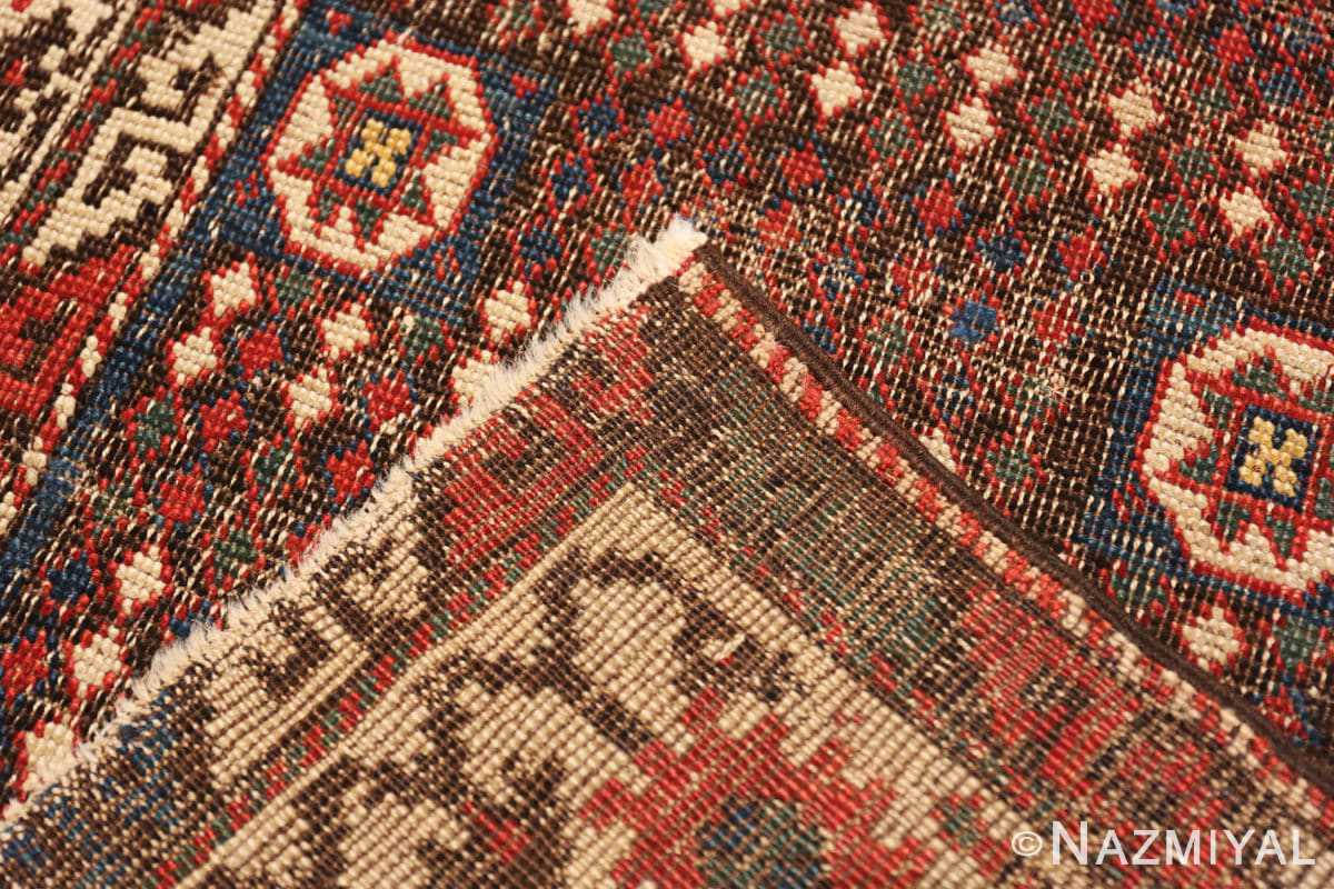 Weave Small Tribal Antique Caucasian Avar rug 44636 by Nazmiyal