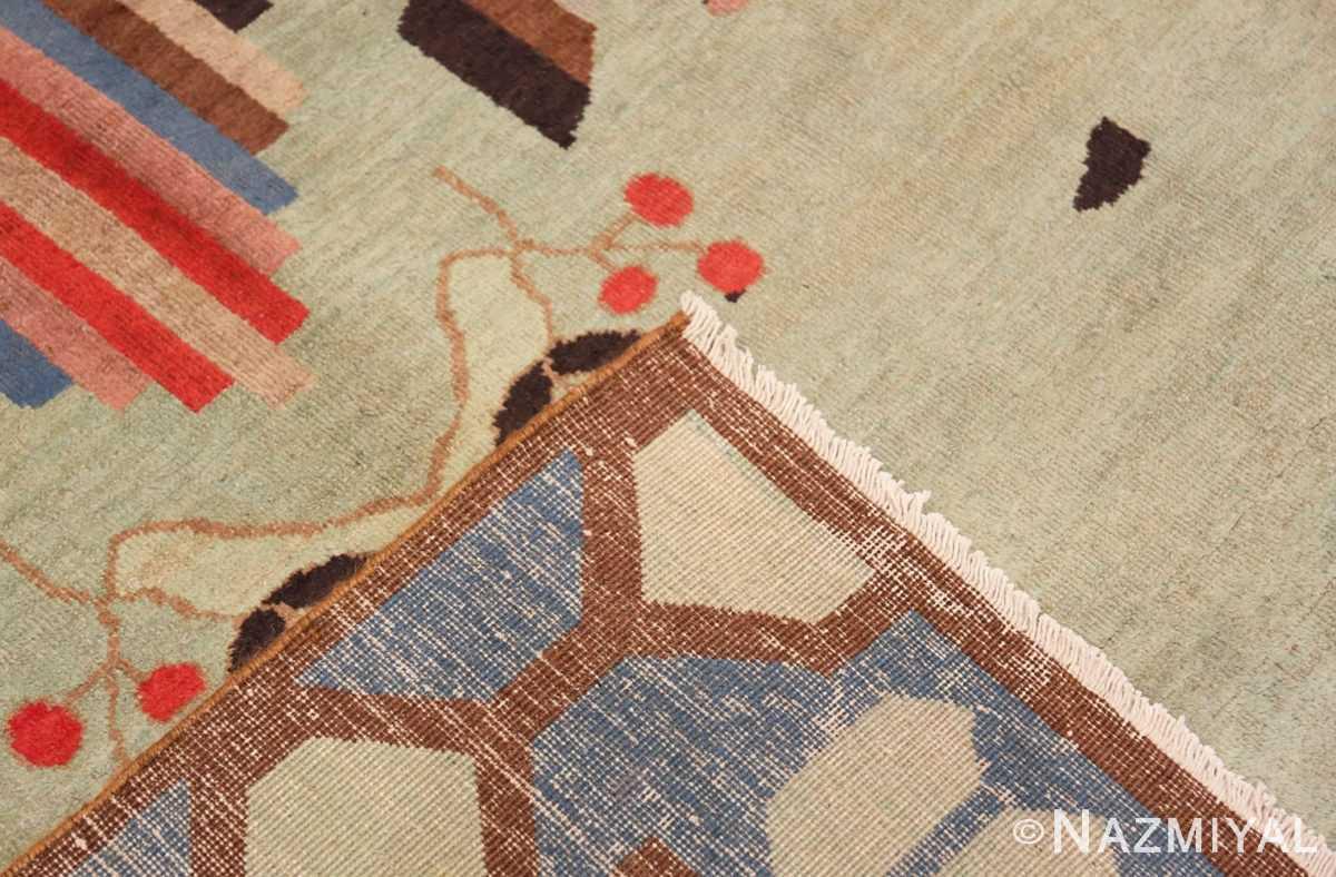 Weave Vintage Art Deco Indian rug 44915 by Nazmiyal