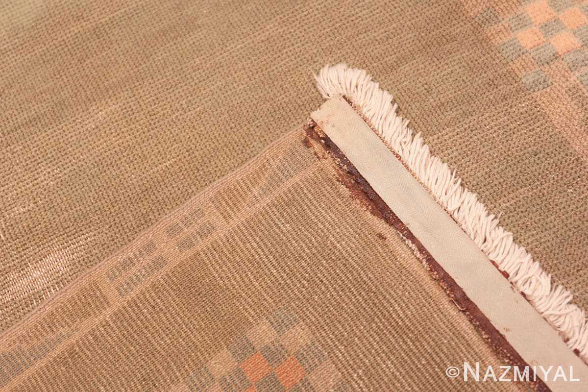 Weave Vintage French Art Deco runner rug 43082 by Nazmiyal