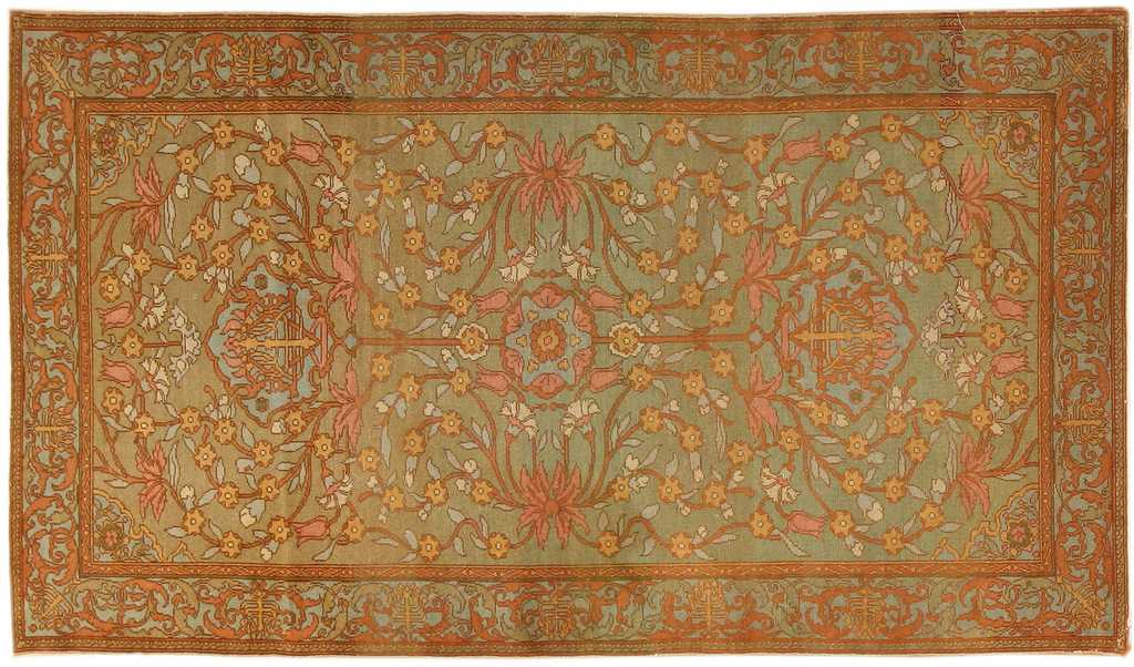 Antique Bezalel Oriental Rug from Jerusalem Israel 8514 by Nazmiyal