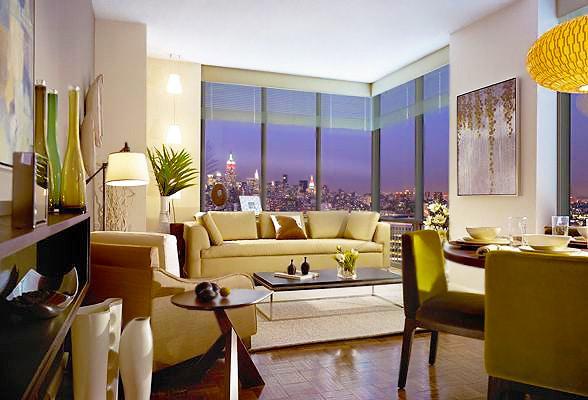 Manhattan New York City Apartment Interior by Nazmiyal