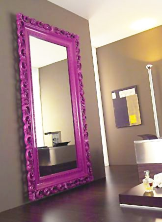 Modern Contemporary Baroque Style Mirror Interior Design Nazmiyal