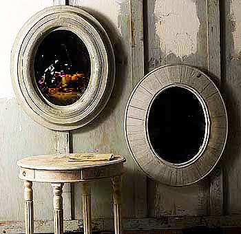 Modern Contemporary Mirrors Based on Antique Designs Nazmiyal