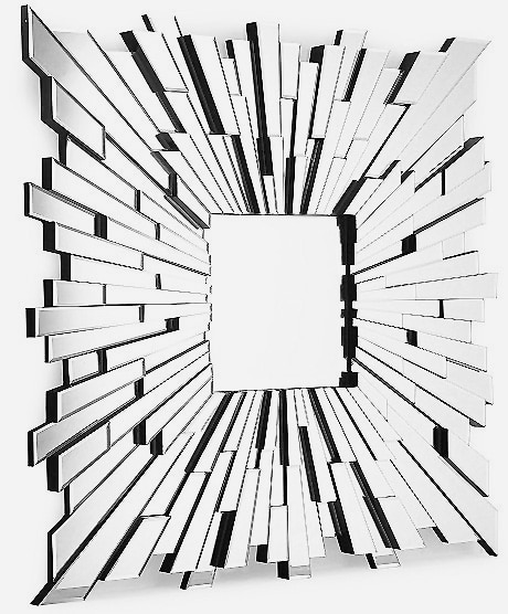 Sunburst Modern Mirror Design For Contemporary Interior Decor Nazmiyal