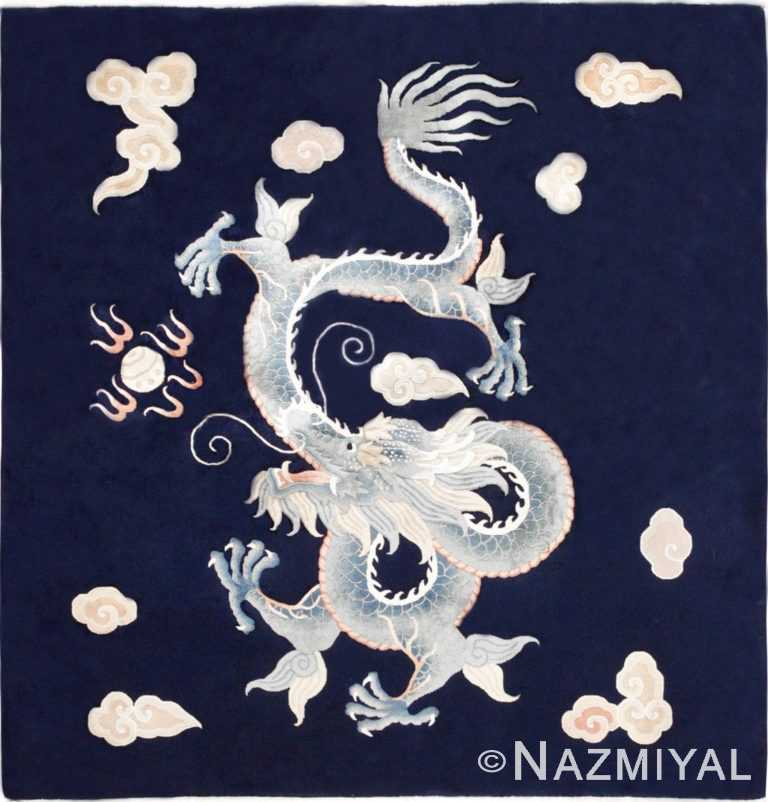 Antique Chinese Rug 45153 Nazmiyal Antique Rugs