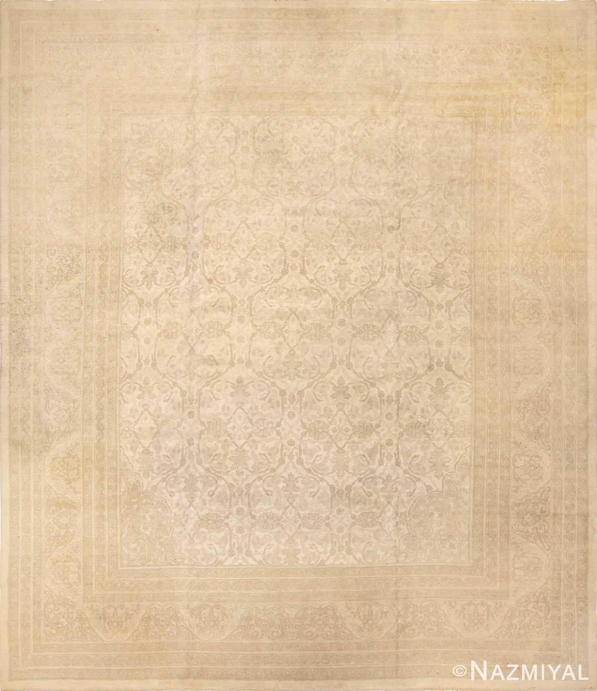 antique agra indian rug 45029 Nazmiyal