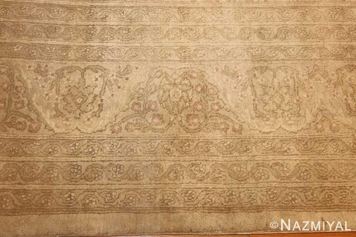 antique agra indian rug 45029 border Nazmiyal