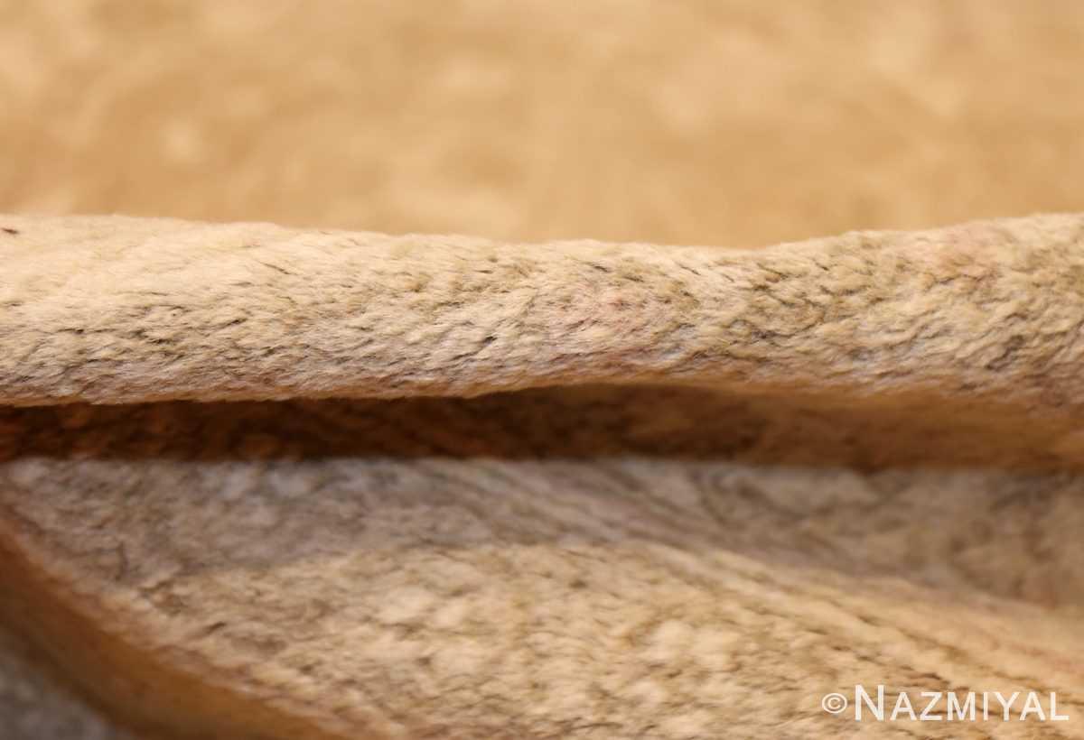 antique agra indian rug 45029 pile Nazmiyal