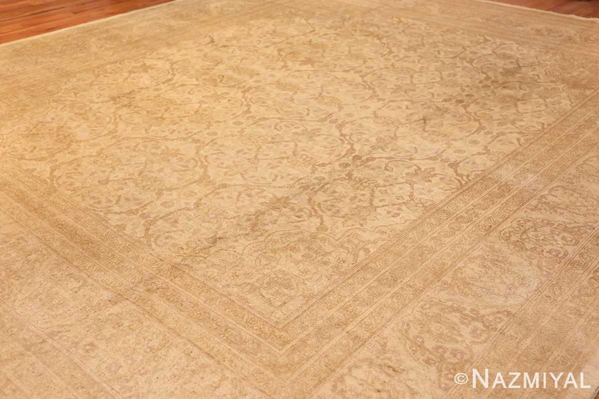 antique agra indian rug 45029 side Nazmiyal