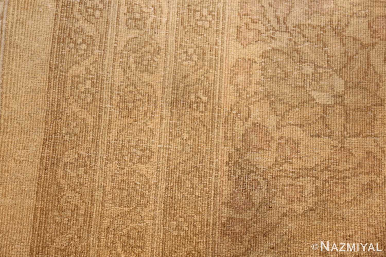 antique agra indian rug 45029 weave Nazmiyal