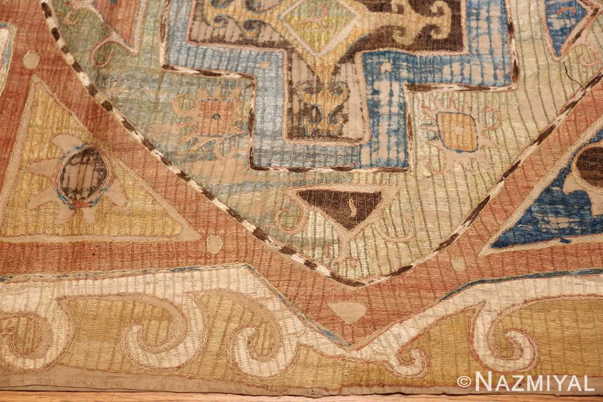 antique kaitag embroidery 45207 border Nazmiyal