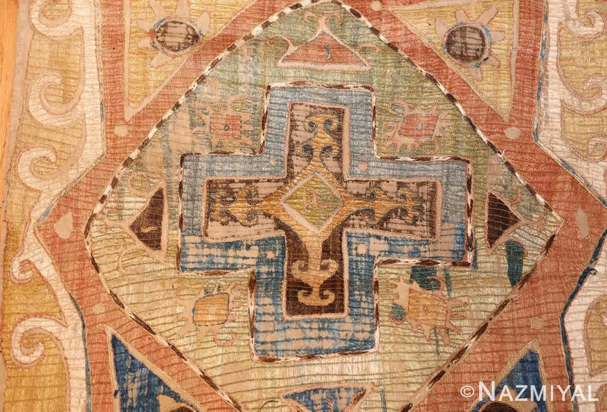 antique kaitag embroidery 45207 cross Nazmiyal