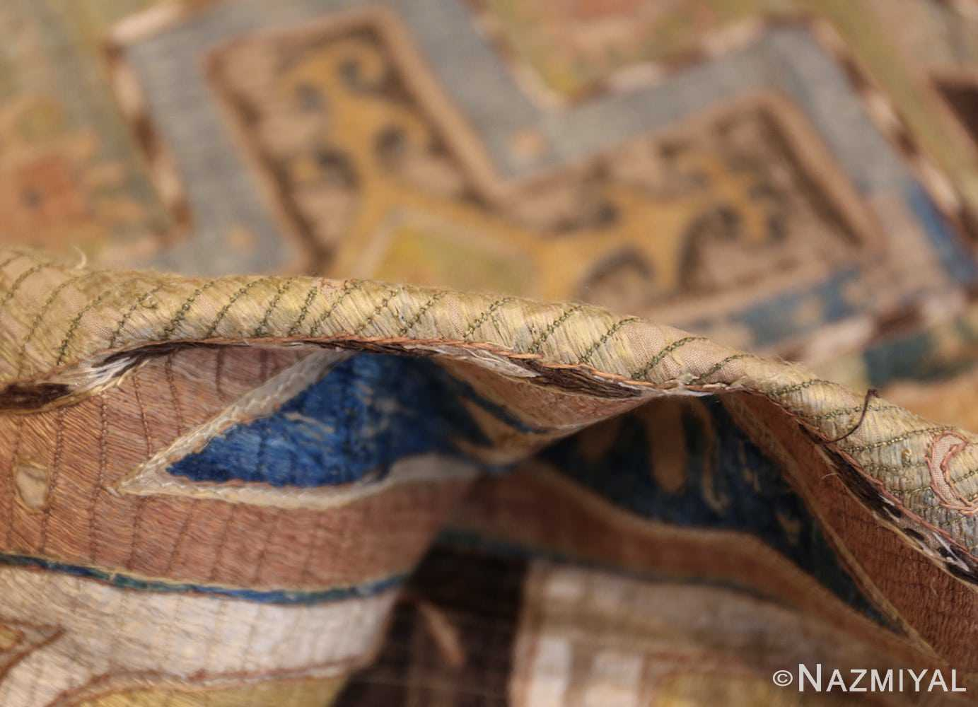 antique kaitag embroidery 45207 pile Nazmiyal