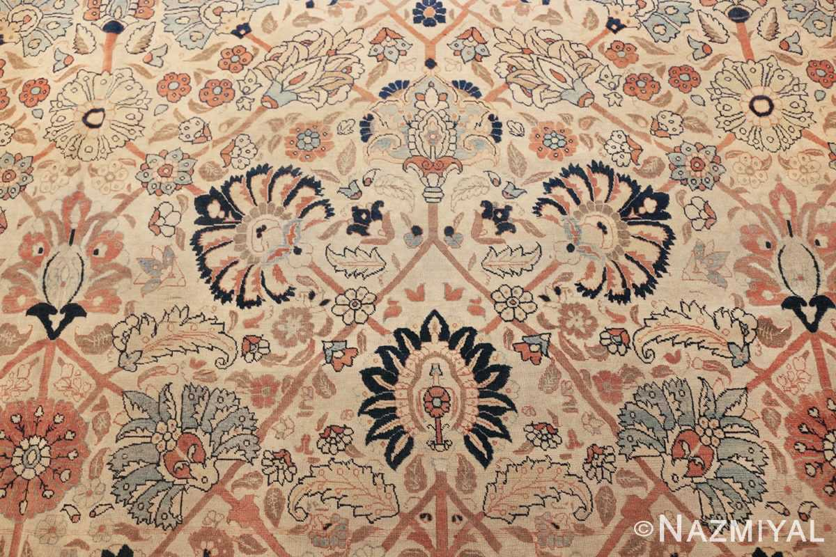 large antique persian tabriz haji jalili rug 44645 navy Nazmiyal