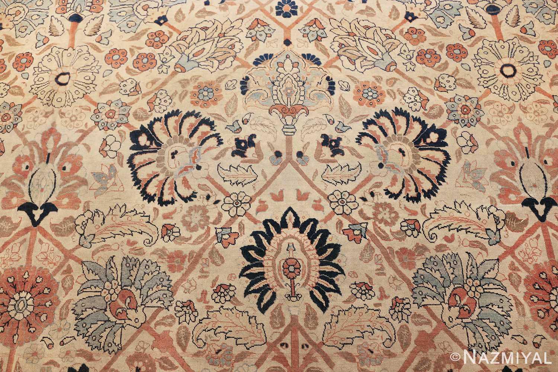 large antique persian tabriz haji jalili rug 44645 navy Nazmiyal