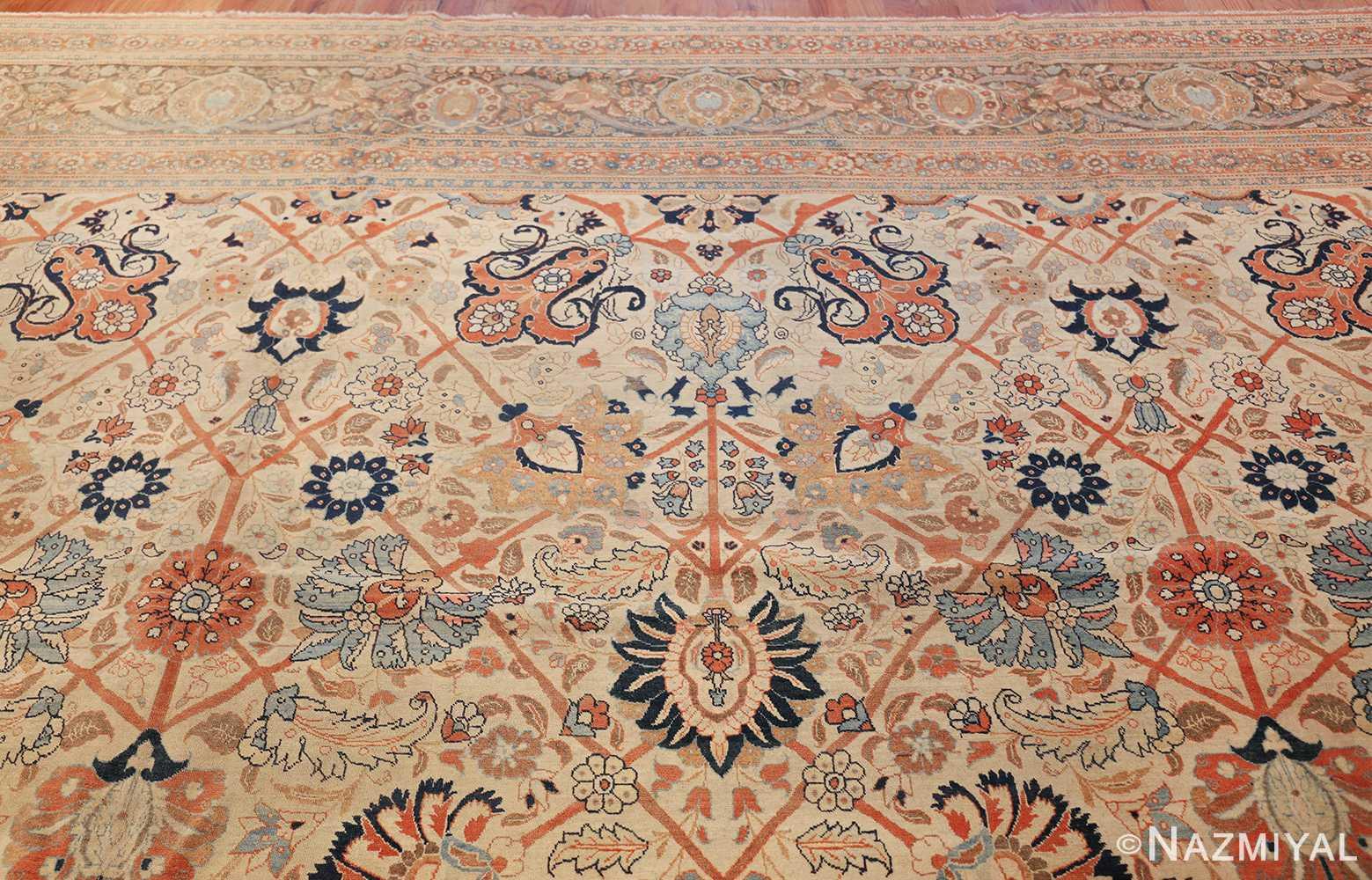 large antique persian tabriz haji jalili rug 44645 top Nazmiyal