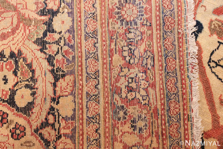 large antique persian tabriz haji jalili rug 44645 weave Nazmiyal