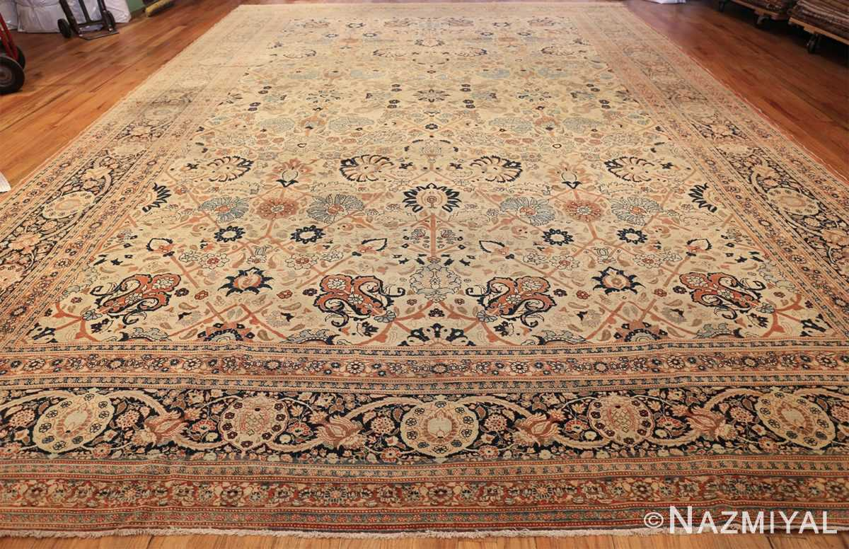 large antique persian tabriz haji jalili rug 44645 whole Nazmiyal