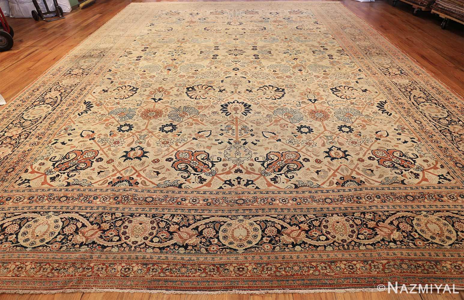 large antique persian tabriz haji jalili rug 44645 whole Nazmiyal