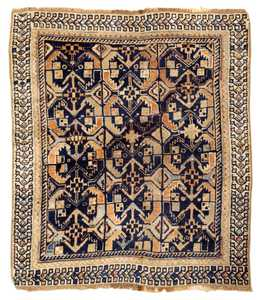 Antique Mahal Persian Rug 42219 Detail/Large View