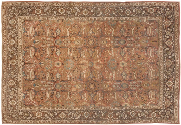 Antique Tabriz Rugs from Persia by nazmiyal