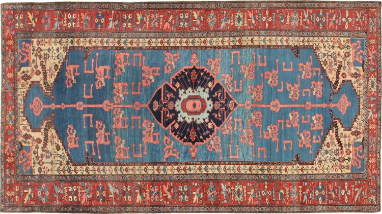 Antique Persian Heriz Rugs by Nazmiyal