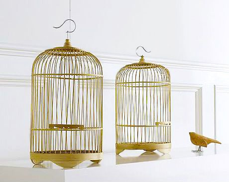 Bamboo Birdcages Interior Design Accent Pieces Nazmiyal