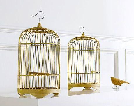 Bamboo Birdcages Interior Design Accent Pieces Nazmiyal