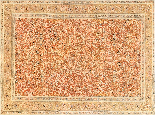 Fine Antique Persian Tabriz Rugs by Nazmiyal