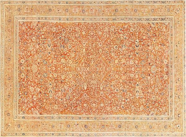 Fine Antique Persian Tabriz Rugs by Nazmiyal