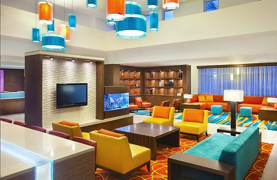 Colorful Living Room Interior Design - Nazmiyal