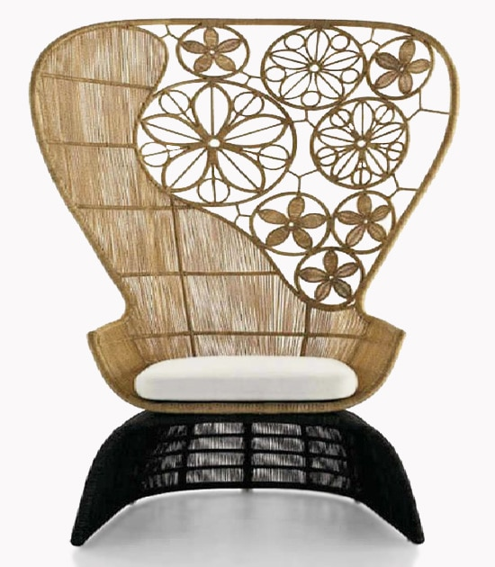 Bamboo Chair Decorative Interior Decor Nazmiyal