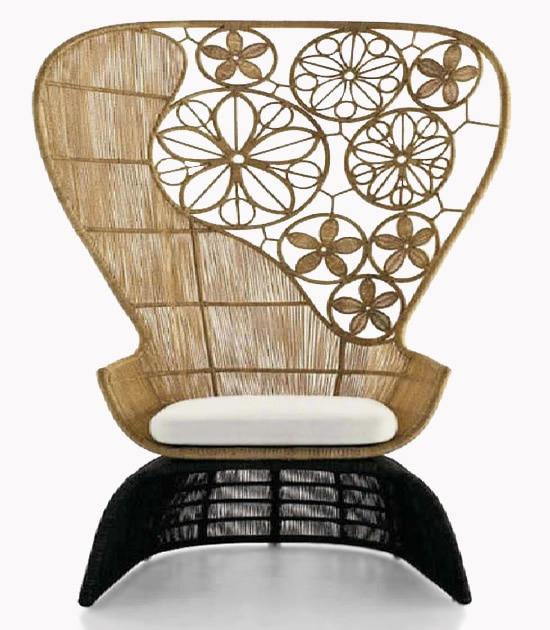 Bamboo Chair Decorative Interior Decor Nazmiyal
