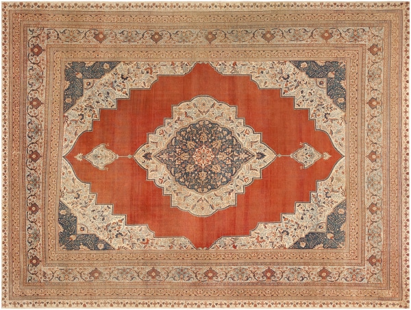 Antique Persian Tabriz Rugs by Nazmiyal