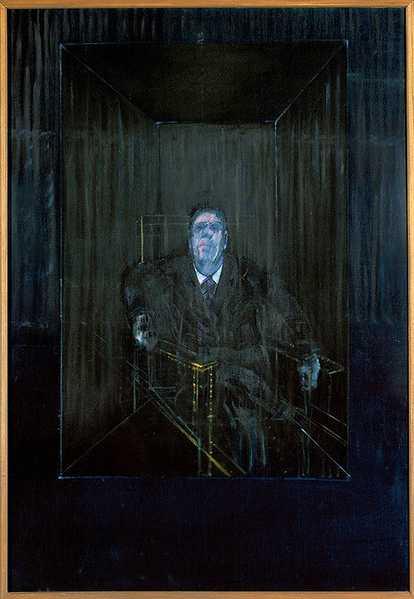 Francis Bacon Study of a Portrait Nazmiyal Art Blog