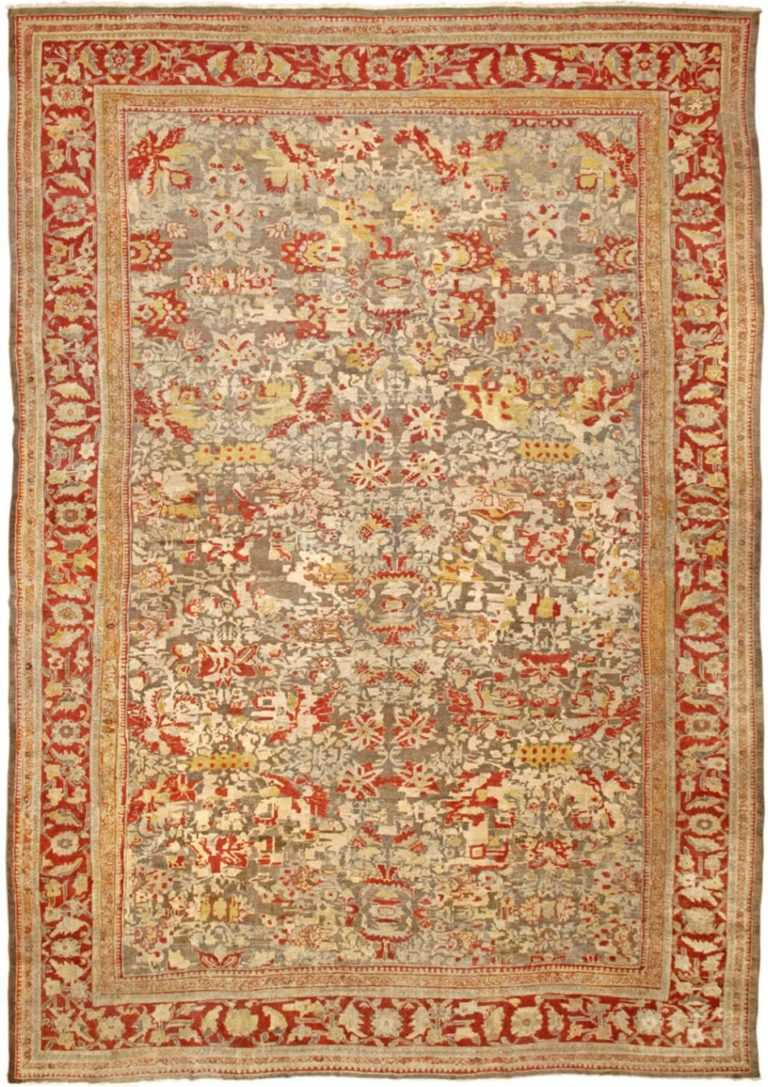 Full view Antique Sultanabad rug 42160 by Nazmiyal