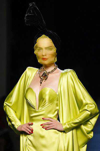 Women's Fashion Couture By Galliano - Nazmiyal