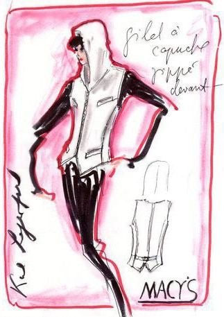 Karl Lagerfeld Fashion Design for Macy's - Nazmiyal