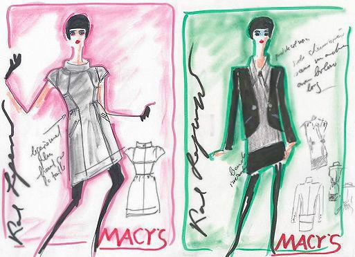 Karl Lagerfeld Couture Women's Fashion Design for Macy's - Namziyal