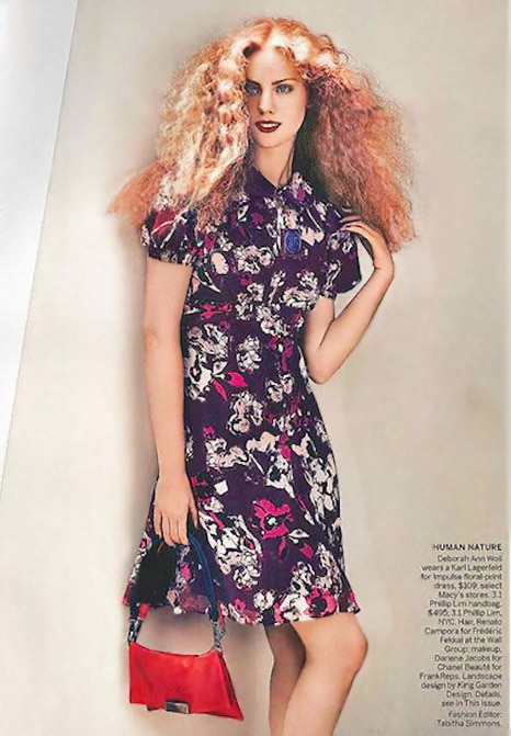 Floral Woman's Dress Designed by Karl Lagerfeld - Nazmiyal
