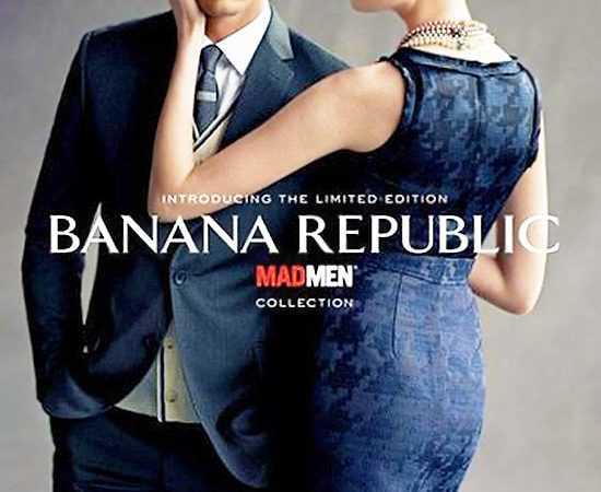 Mad Men Fashion At Banana Republic Nazmiyal