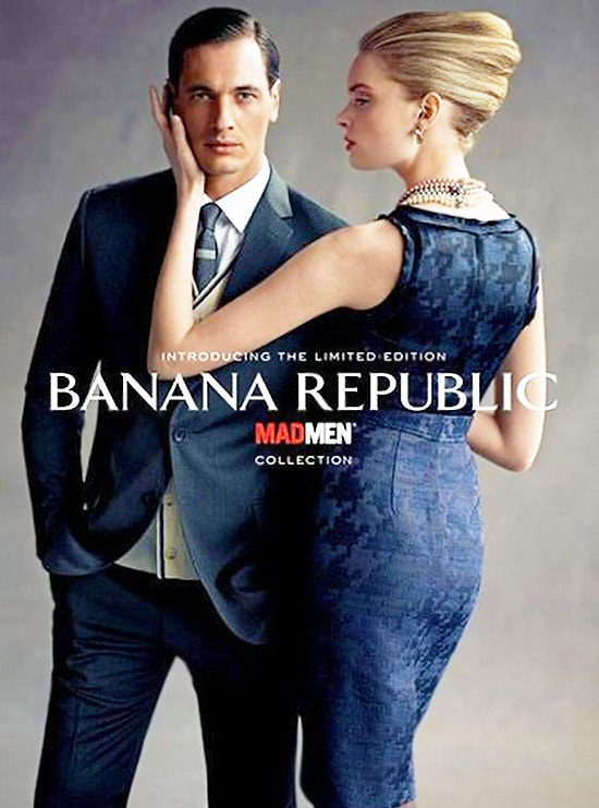 Mad Men Fashion At Banana Republic Nazmiyal