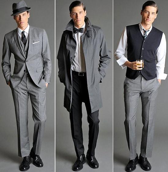 Mad Men Men's Suits at Banana Republic by Nazmiyal