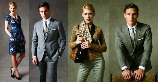 Mad Men Fashion Collection At Banana Republic by nazmiyal