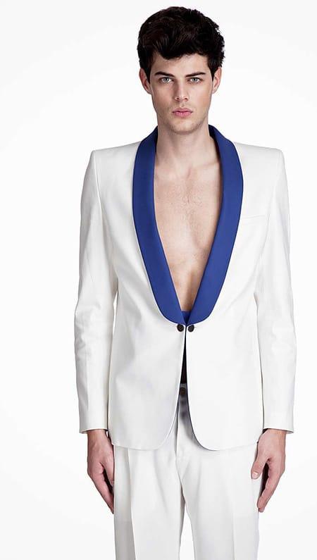 Maison Martin Margiela, Shawl Collar Mens Fashion Blazer - Nazmiyal