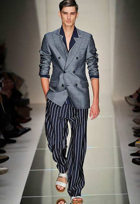 Men's Fashion Ferragamo Double Breasted Blazer