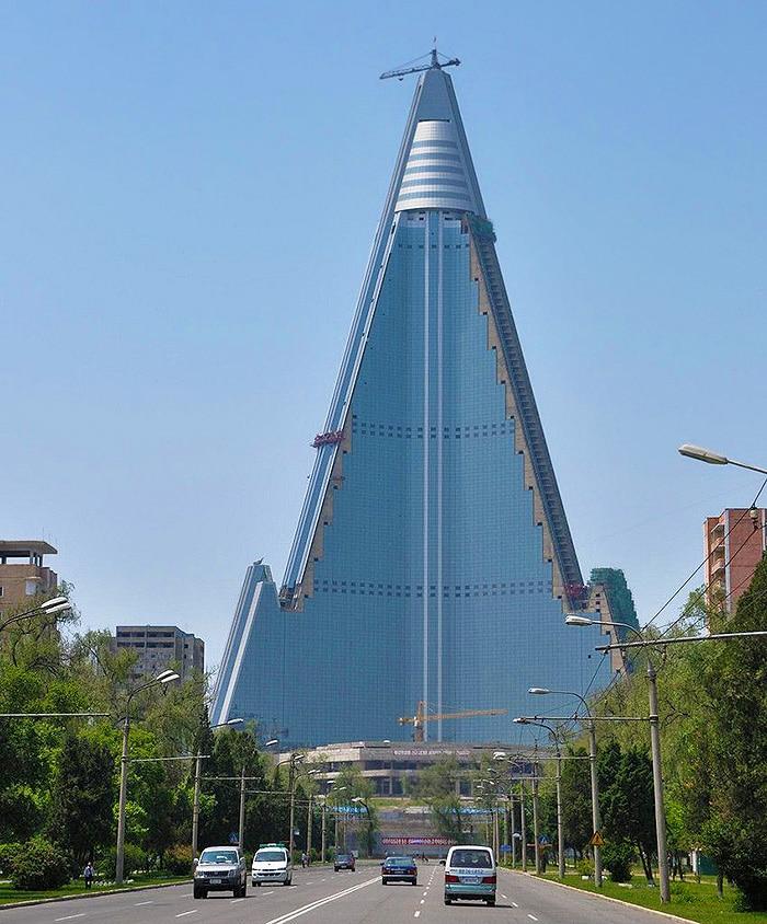 North Korea Hotel Ryugyong Nazmiyal
